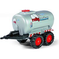 Rolly Toys Jumbo Twin Axle Tanker Silver