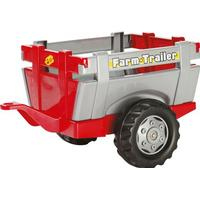 Rolly Toys Farm Trailer Red & Sliver