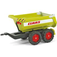 Rolly Toys Giant Half Pipe Claas Twin Axle Trailer