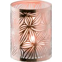 Dorre Lykta koppar med glasrör mönster höjd 7,5 cm Dorre