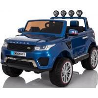 El-biler - adventure 4x4 blå - 12v elbil m/ 4x45w motorer standard