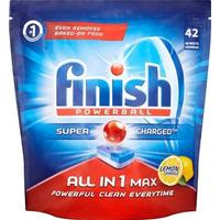 Finish Powerball All In 1 Max Lemon 42-pack