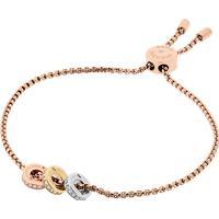 Michael Kors Iconic Stainless Steel Rose Gold Plated Bracelet (MKJ6338998)