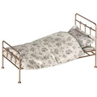Maileg Mini Gold Vintage Bed