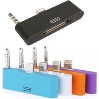 Iphone 6 lightning-adapter till 30-pin med ljud