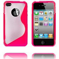 Moon craft x5 (rosa) iphone 4 / 4s silikonskal