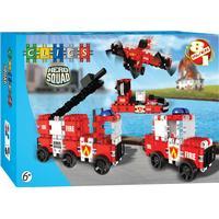 Clics Toys Hero Squad Fire Brigade 8 in 1