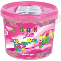 Clics Toys Startset Glitter 7 i 1 hink