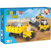 Clics Toys Byggeplads Byggesæt 5 in 1