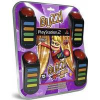 Buzz Mega Quiz Inkl. Buzzers (Engelsk)