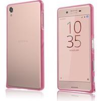 Bergman aluminiumsbumper til Sony Xperia X - Pink