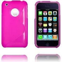 Moon Craft (Pink) iPhone Cover til 3G/3GS