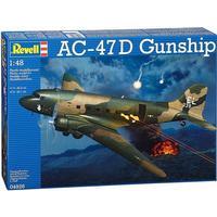 Revell 1/48 AC-47D Gunship Plastic Model Kit 04926