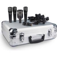 Audix DP4 Set Upptagningsförmåga Cardioid Tillbehör Vibrationsdämpare stativ