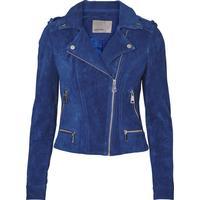 Vero Moda Suede Jacket Blue/Mazarine Blue (10191094)