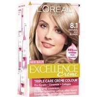 L'Oreal Paris Excellence Crème #8.1 Natural Ash Blonde