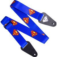 Access All Areas Superman Logo Fabric Guitar Strap