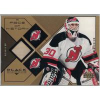 Martin Brodeur 1999-00 Black Diamond A Piece of History #MB