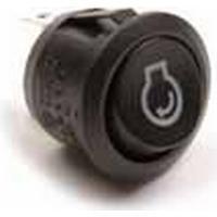 Vaggströmbrytare (Röd lysdiod Lasermärkt Starthjälp)