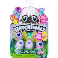 Spin Master Hatchimals Colleggtibles 4 Pack + Bonus