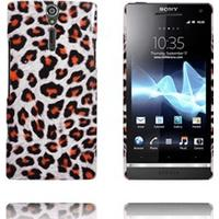 Safari Mode (Hvid Leopard) Sony Xperia S Cover