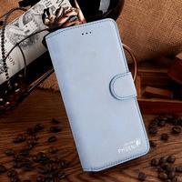 Golden phoenix iphone 7 plus läderfodral blå
