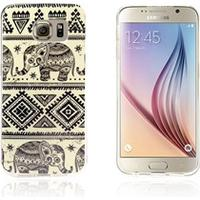 Westergaard Samsung Galaxy S6 Edge Cover - Elephant Tribe