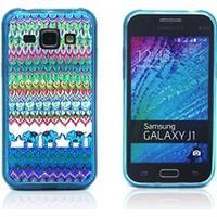 Westergaard Samsung Galaxy J1 Cover - Elefant Tribe Mønster