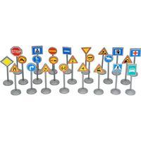 Plasto Traffic Signs 24pcs