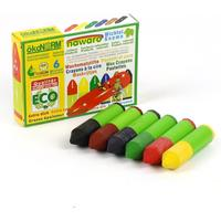 Mini Wax crayons Gnome Nawaro Carton 6 Colors