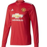 Adidas Manchester United Home LS Jersey 17/18 Sr