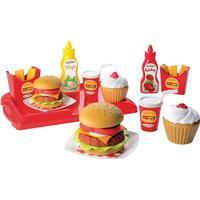 Ecoiffier Hamburger Set