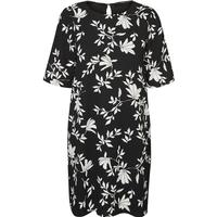 Vero Moda Casual Sort Sleeved Dress Black/Black Beauty (10182782)