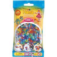 Hama Midi Beads Glitter Mix 1000pcs 207-54