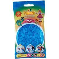 Hama Midi Beads Translucent Aqua 1000pcs 207-73