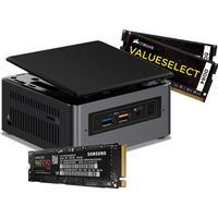"""Intel NUC Kaby Lake 2.5"""" 250GB M.2 SSD/16GB Kit I5-7260U"""