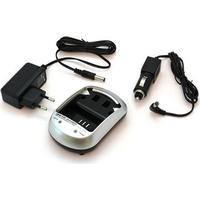 MTP Products Videokamera Batteri Laddare - Sony NP-FP50, NP-FH50, NP-FV100