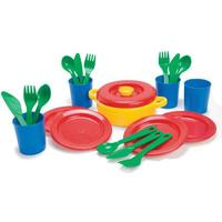 Andreu Toys Dinner Set in Net 4 People