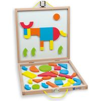 Andreu Toys Magnetic Shapes Box