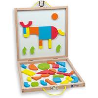 Andreu Toys Magnetic Shapes Box