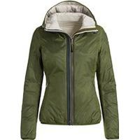 Parajumpers Frances ST. Dunjakke Vendbar Lime/Rope