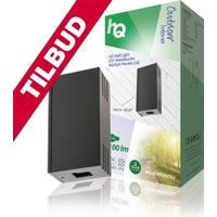 HQ HQLEDWLOUT02 LED Udendørs Vægpære 6 W 100 lm Sort - TILBUD