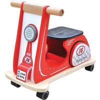 INDIGO JAMM® Jamm Rutscher Scooter Racing Red AIJ073