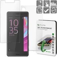 4smarts Sony Xperia X Performance 4smarts 360 Beskyttelsessæt - Gennemsigtigt