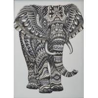 Svanefors Elefant väv