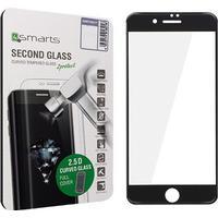 4smarts Curved Glass iPhone 7 Plus Panserglas - Sort