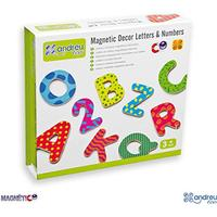 Andreu Toys Magnetic Decor & Numbers