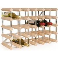 TREND Vinreol til 30 flasker - LYS - LEVERES SAMLET