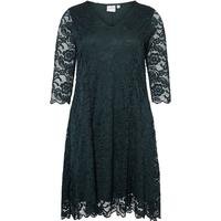 Junarose Lace Dress Green/Green Gables (21006791)