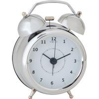 Nextime Väckarklocka Wake Up Silver - 23 cm